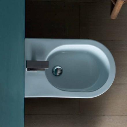 Bidet en céramique au design moderne 57x37cm, soleil, produit à 100% en Italie