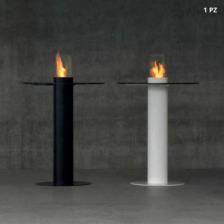 Table pour extérieur avec cheminée au bioéthanol Dean – Table