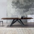 Bonaldo Big Table table extensible en bois de design faite en Italie