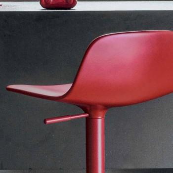 Tabouret pivotant réglable Bonaldo Bonnie fabriqué en Italie Bonnie