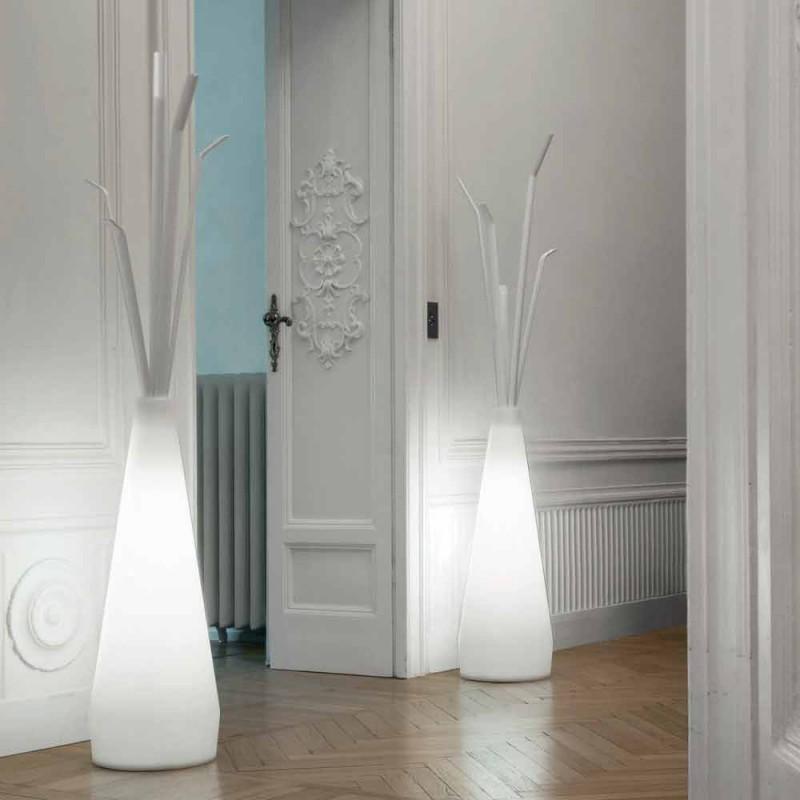 Porte manteau Bonaldo Kadou avec lumière design en polyéthylène made in Italy