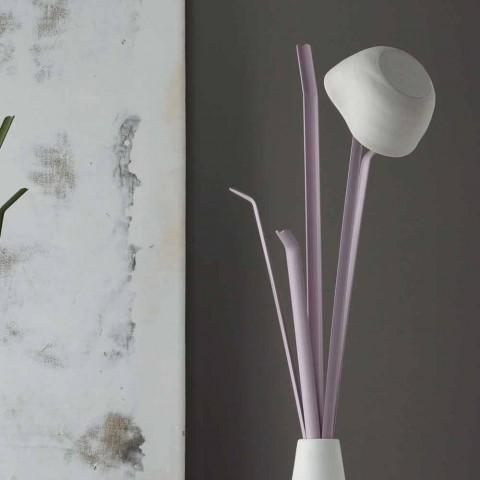 Bonaldo Kadou cintre design en polyéthylène et acier fabriqué en Italie