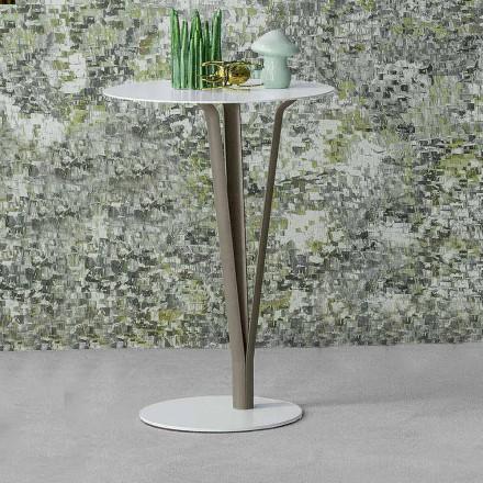 Bonaldo Kadou table basse de design acier peint D39cm faite en Italie