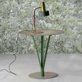 Bonaldo Kadou table basse de design acier peint D50cm faite en Italie