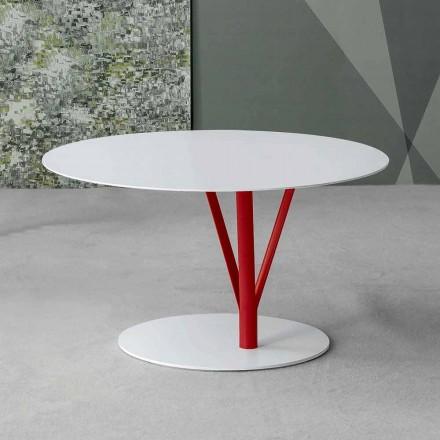 Bonaldo Kadou table basse de design acier peint D70cm faite en Italie