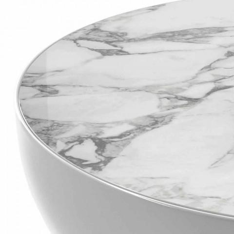 Bonaldo Planet table en céramique design Calacatta made in Italy