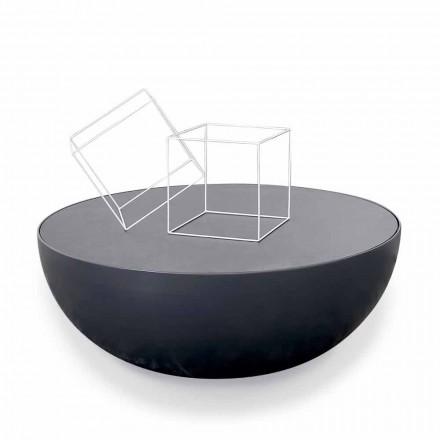 Bonaldo Planet table basse de design en cristal acidé faite en Italie