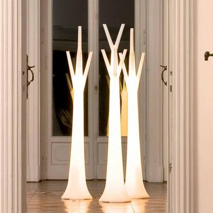 Bonaldo Tree portemanteau avec lumière en polyéthylène fait en Italie