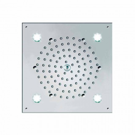 Bossini Plafond de Douche Cube-Flat Light 260x260 mm