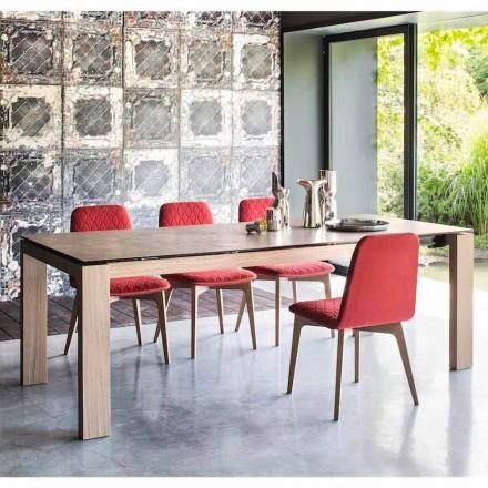 Connubia Calligaris Sigma table extensible jusqu'à 220 cm en céramique