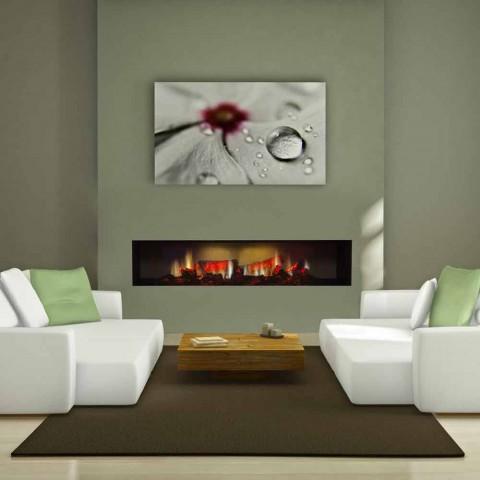 Foyer électrique encastré écran LED HD et Edimbourg Double
