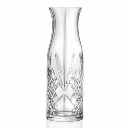 Cruche à eau ou à vin Vintage Design Eco Crystal 4 pièces - Cantabile