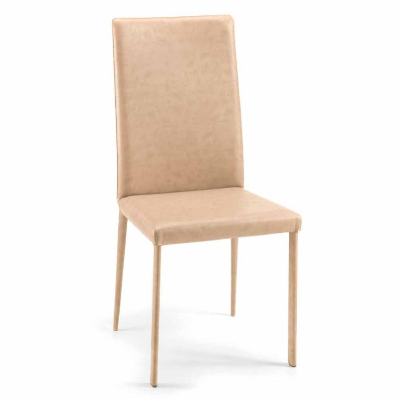 Chaise de salle à manger Carly design moderne fabriquée en Italie