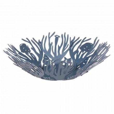 Design de pièce maîtresse avec des coraux en fer précieux fait à la main en Italie - Maste