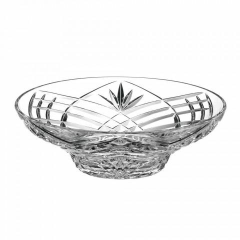 Centre de Table Vintage Design en Cristal Écologique 2 Pièces - Cantabile