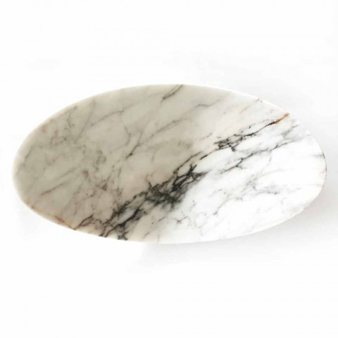 Centre de table en marbre Paonazzo de design Made in Italy - Libeccio