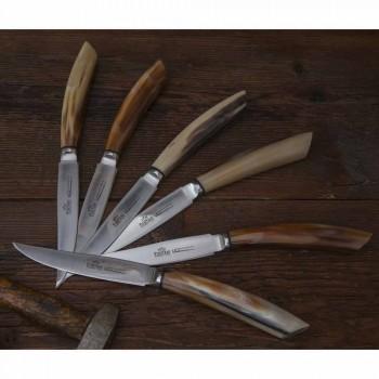 Bloc aimant en bois d'olivier et de châtaignier de 12 Fabriqué en Italie - Bloc