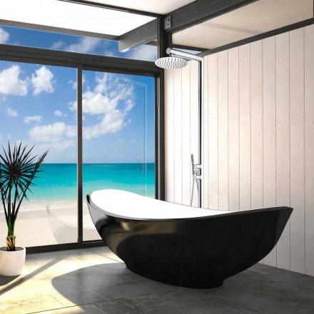 Bossini Colonne de douche moderne   Nek Floor, avec alimentation au sol