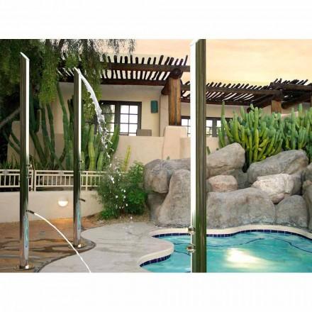 Bossini Colonne de douche pour extérieur en acier inox   Aquabambù