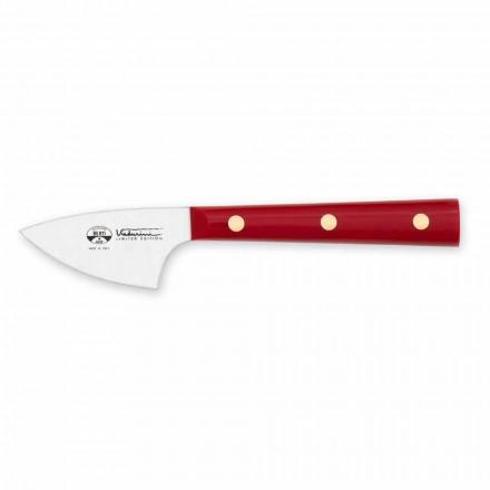 Couteau à fromage à pâte dure en acier inoxydable, Berti exclusif pour Viadurini - août