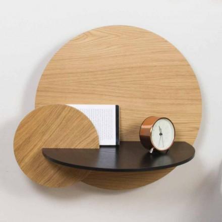Table de chevet modulable au design élégant en contreplaqué avec compartiment caché - Bigno
