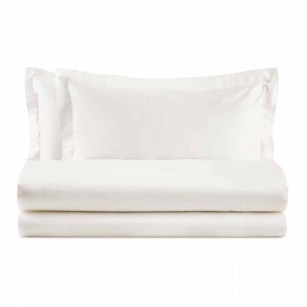 Ensemble élégant pour lit double en coton satiné - Violetta