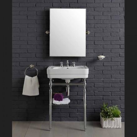 Set meuble salle de bain avec structure en métal Beauty