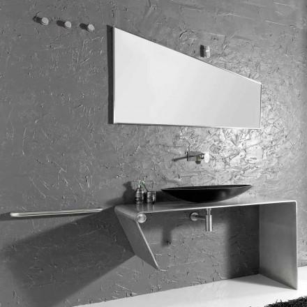Meuble de salle de bain moderne fabriqué en Italie Luisa