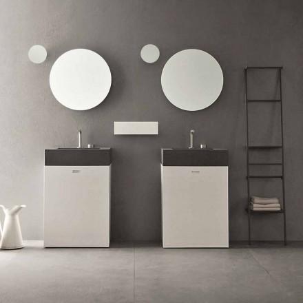 Composition du sol de meubles de salle de bain design moderne - Farart10