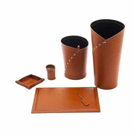 Accessoires de bureau Made in Italy Porte-parapluie, corbeille à papier, sous-main - Giulio