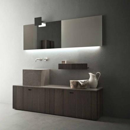Composition de meubles de salle de bain au sol de conception moderne - Farart1
