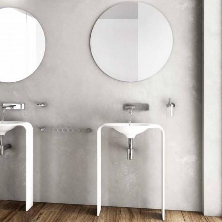 Composition de meubles de plancher de salle de bains moderne fabriqué en Italie à Sienne