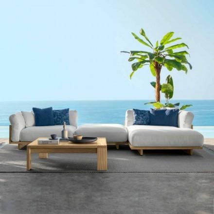 Composition de mobilier de jardin et table basse - Argo par Talenti