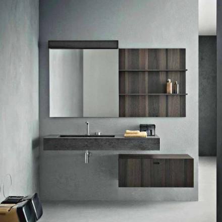 Composition pour salle de bain suspendue et design moderne Made in Italy - Farart9