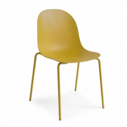 Connubia Calligaris Academy chaise de design moderne, 2 pièces