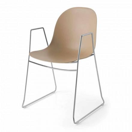 Connubia Calligaris Academy chaise moderne de design, 2 pièces