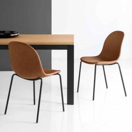 Connubia Calligaris Academy chaise de design vintage, 2 pièces
