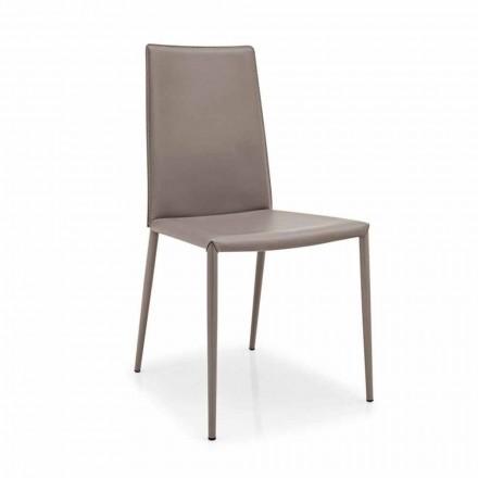 Connubia Calligaris Boheme chaise en cuit et métal moderne,2 pièces