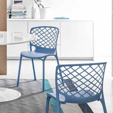 Connubia Calligaris Gamera chaise de cuisine moderne, 2 pièces