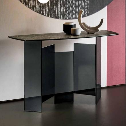Salon design en céramique et verre Made in Italy - Aléatoire