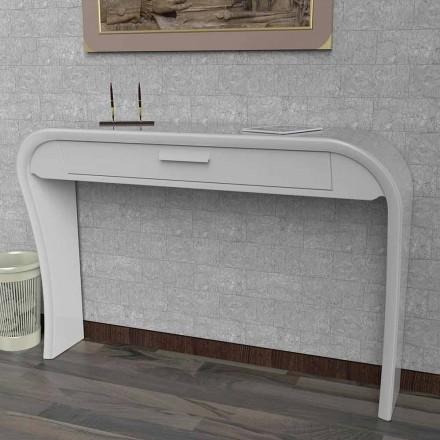 Console moderne avec tiroir fabriqué en Italie, Gambara