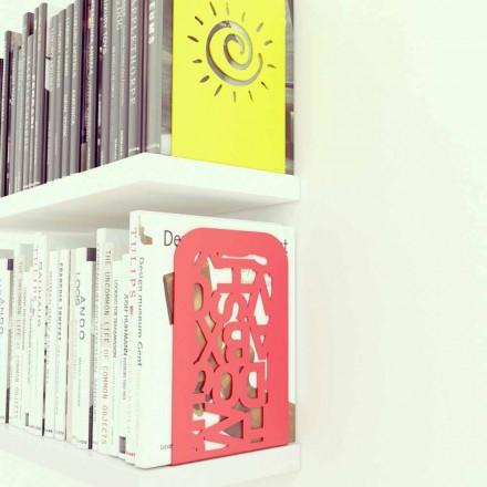 Couple de serre-livres de design Blokko, créée par Mabele