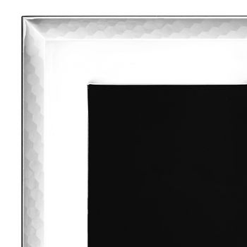 Cadre Photo de Luxe Argenté Design Vertical Italien - Eureka