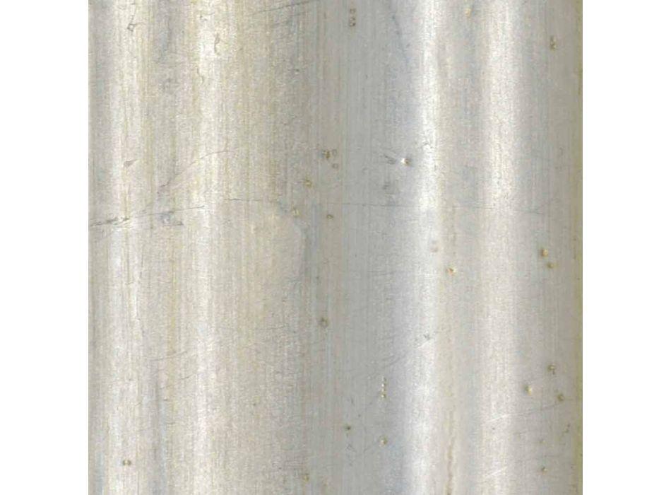Cadre plasma mural en bois d'ayus, sapin fabriqué en Italie Giulio