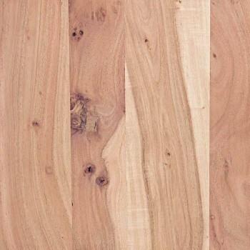 Buffet moderne en bois d'acacia avec 2 portes et 3 tiroirs Homemotion - Lauro