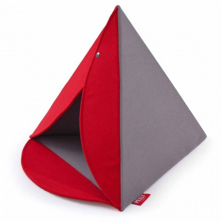 Chenil pour chiens et chats intérieur amovible Made in Italy - Pyramid
