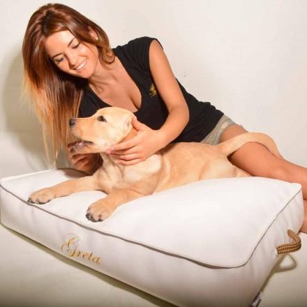 Coussin pour chien en simil cuir Doggy Cloud fait en Italie