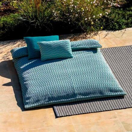 Made in Italy Lit de repos extérieur double design de luxe - Emanuela