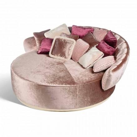 Canapé rond en tissu 100% fait en Italie Belle 2