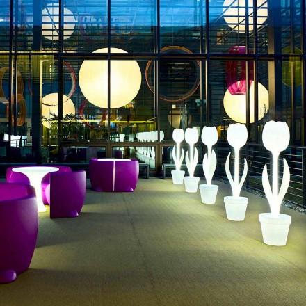 Décoration de mobilier lumineux pour la décoration intérieure, 2 pièces - Tulipe par Myyour